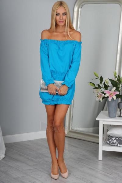 Suknelė Barbra (mėlynos spalvos) Paveikslėlis 1 iš 4 310820035944