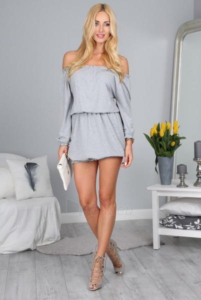 Suknelė Barbra (šviesiai pilkos spalvos) Paveikslėlis 1 iš 4 310820034705