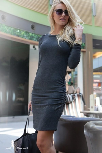 Suknelė Brevyn (pilkos spalvos) Paveikslėlis 1 iš 4 310820035487
