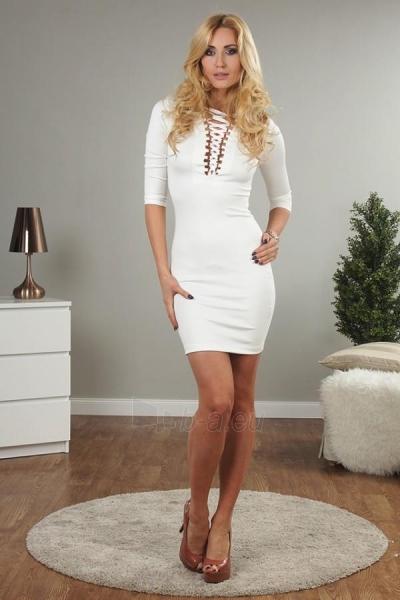 Suknelė Celina (kreminės spalvos) Paveikslėlis 1 iš 3 310820032591