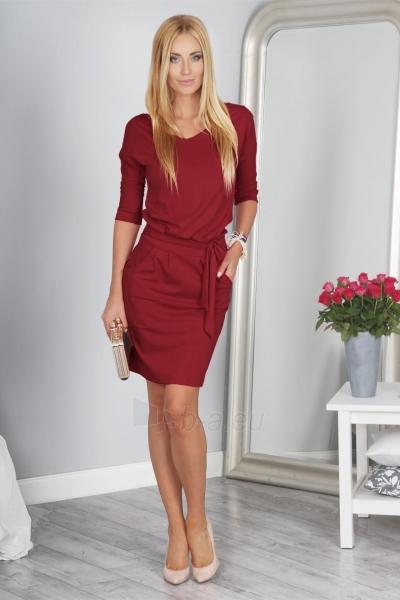 Suknelė Chalcedon (bordinės spalvos) Paveikslėlis 1 iš 3 310820046073