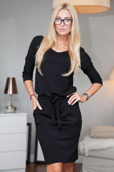 Suknelė Chalcedon (juodos spalvos) Paveikslėlis 1 iš 4 310820034760