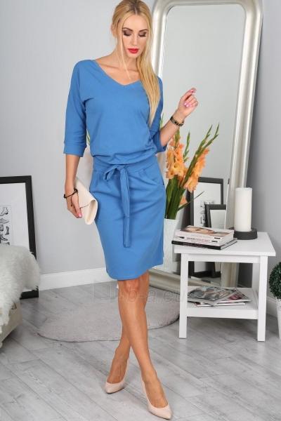 Suknelė Chalcedon (mėlynos spalvos) Paveikslėlis 1 iš 4 310820046625