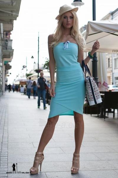 Suknelė Davi (turkio spalvos) Paveikslėlis 1 iš 4 310820035658