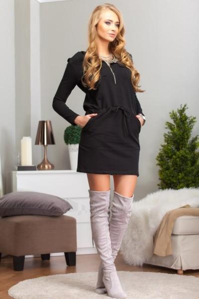 Suknelė Eda (juodos spalvos) Paveikslėlis 1 iš 4 310820032624