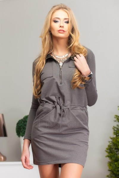 Suknelė Eda (pilkos spalvos) Paveikslėlis 1 iš 4 310820032623