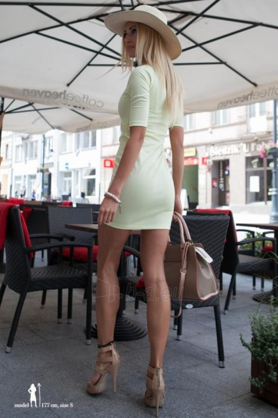Suknelė Elizabeth (citrininės spalvos) Paveikslėlis 1 iš 4 310820035926