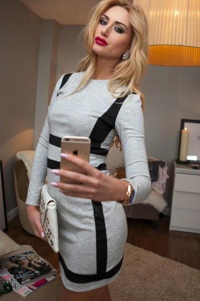 Suknelė Elsa (šviesiai pilkos spalvos) Paveikslėlis 1 iš 4 310820032912