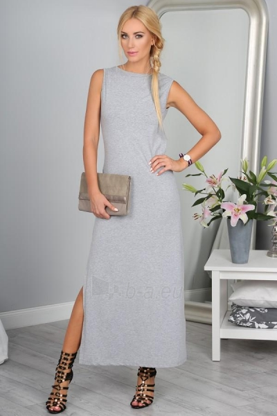Suknelė Elsie (šviesiai pilkos spalvos) Paveikslėlis 1 iš 4 310820035939