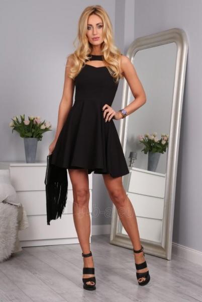 Suknelė Europa (juodos spalvos) Paveikslėlis 1 iš 4 310820034606