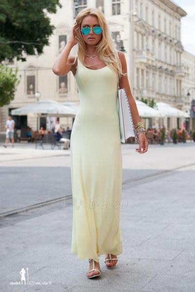 Suknelė Evelyn (citrinos spalvos) Paveikslėlis 1 iš 4 310820035856
