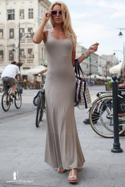 Suknelė Evelyn (kapučino spalvos) Paveikslėlis 1 iš 6 310820035855
