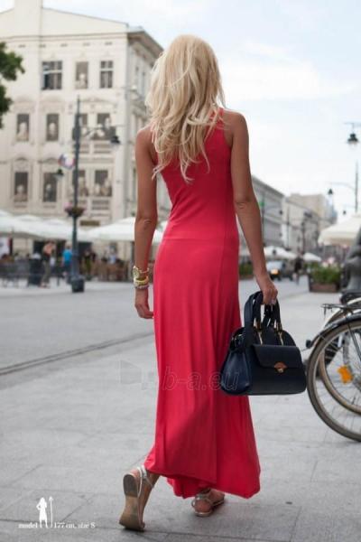 Suknelė Evelyn (koralo spalvos) Paveikslėlis 1 iš 7 310820035858