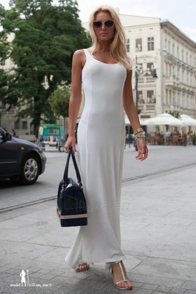 Suknelė Evelyn (kreminės spalvos) Paveikslėlis 1 iš 4 310820035859