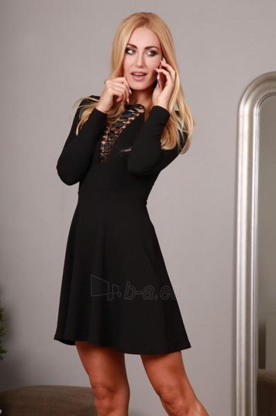 Suknelė Fox (juodos spalvos) Paveikslėlis 1 iš 4 310820032571