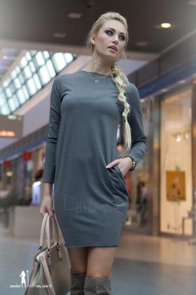 Suknelė Fruta (tamsiai pilkos spalvos) Paveikslėlis 1 iš 3 310820032845