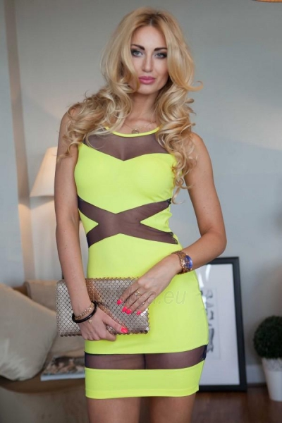 Suknelė Gemma (geltonos spalvos) Paveikslėlis 1 iš 4 310820035644