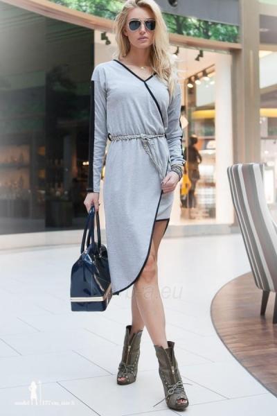 Suknelė Geneva (šviesiai pilkos spalvos) Paveikslėlis 1 iš 4 310820033139