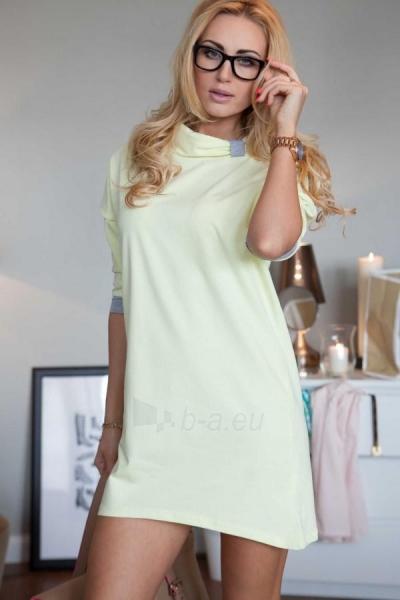 Suknelė Gerd (citrininės spalvos) Paveikslėlis 1 iš 4 310820035638