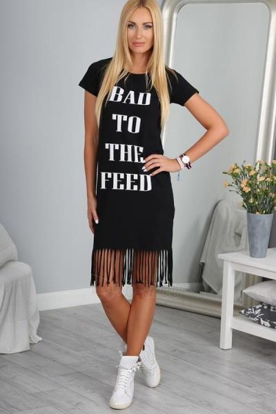 Suknelė Greco (juodos spalvos) Paveikslėlis 1 iš 3 310820043659