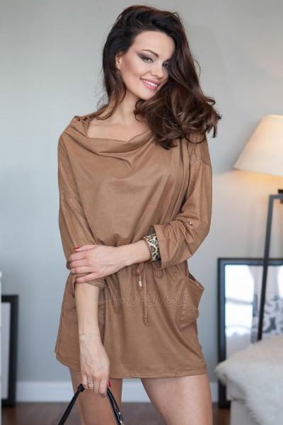 Suknelė Greta (karamelinės spalvos) Paveikslėlis 1 iš 3 310820032647
