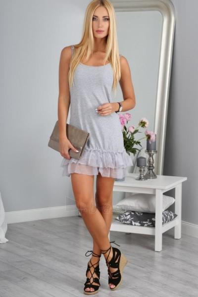 Suknelė Grisel (šviesiai pilkos spalvos) Paveikslėlis 1 iš 4 310820043657
