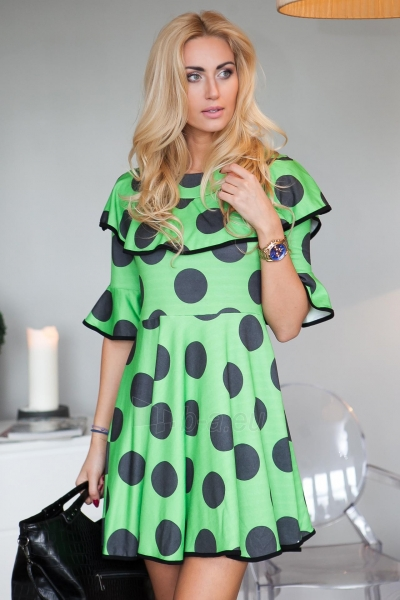 Suknelė Gulia (žalios spalvos) Paveikslėlis 1 iš 3 310820056659