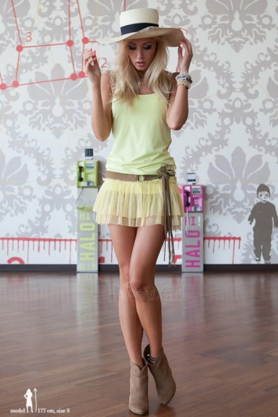 Suknelė Hailey (citrinos spalvos) Paveikslėlis 1 iš 5 310820035865