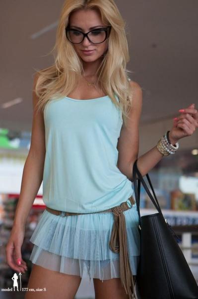 Suknelė Hailey (turkio spalvos) Paveikslėlis 1 iš 5 310820035867