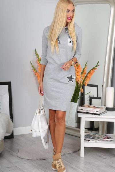 Suknelė Hani (šviesiai pilkos spalvos) Paveikslėlis 1 iš 4 310820046814