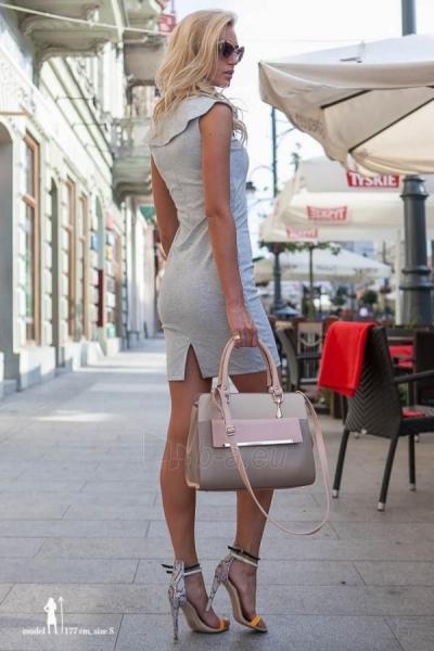 Suknelė Hannah (šviesiai pilkos spalvos) Paveikslėlis 1 iš 8 310820035863