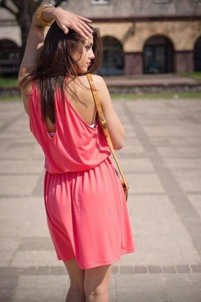 Suknelė Jilly (koralo spalvos) Paveikslėlis 1 iš 2 310820047324