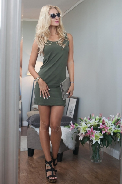 Suknelė Joss (chaki spalvos) Paveikslėlis 1 iš 3 310820046777