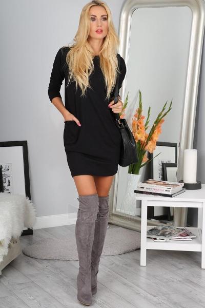 Suknelė Kaidyn (juodos spalvos) Paveikslėlis 1 iš 4 310820046638