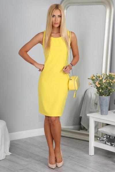 Suknelė Kapila (geltonos spalvos) Paveikslėlis 1 iš 3 310820035587