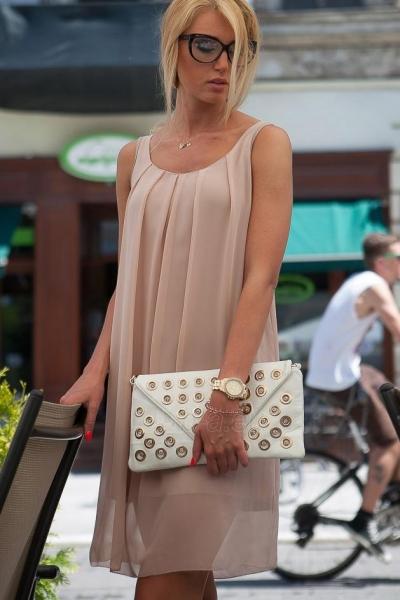 Suknelė Keily (šokoladinės spalvos) Paveikslėlis 1 iš 4 310820047052