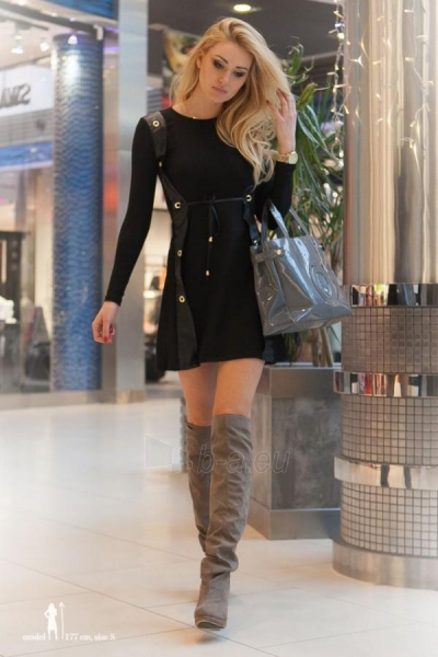 Suknelė Kella (juodos spalvos) Paveikslėlis 1 iš 4 310820032707