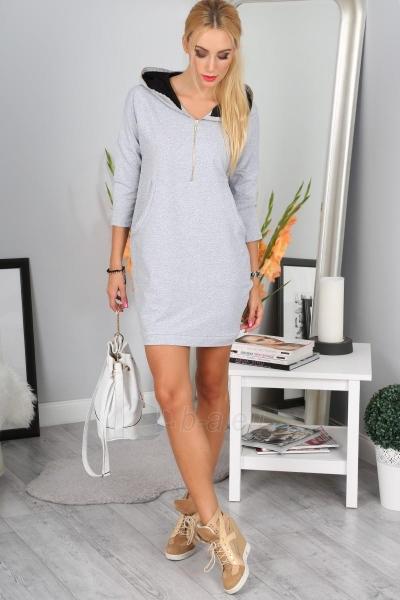 Suknelė Khole (šviesiai pilkos spalvos) Paveikslėlis 1 iš 4 310820046611