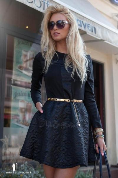 Suknelė Lauran (juodos spalvos) Paveikslėlis 1 iš 5 310820032380