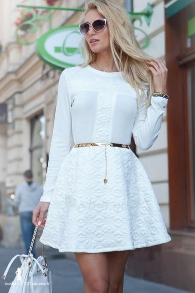Suknelė Lauran (kreminės spalvos) Paveikslėlis 1 iš 4 310820032382