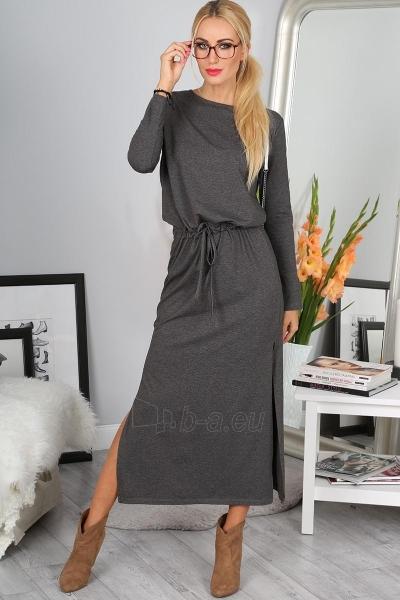Suknelė Lera (tamsiai pilkos spalvos) Paveikslėlis 1 iš 4 310820046612