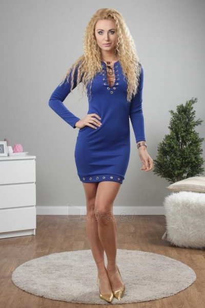 Suknelė Lopez (mėlynos spalvos) Paveikslėlis 1 iš 3 310820032567