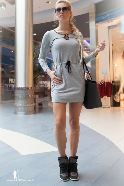Suknelė Macy (šviesiai pilkos spalvos) Paveikslėlis 1 iš 4 310820033142
