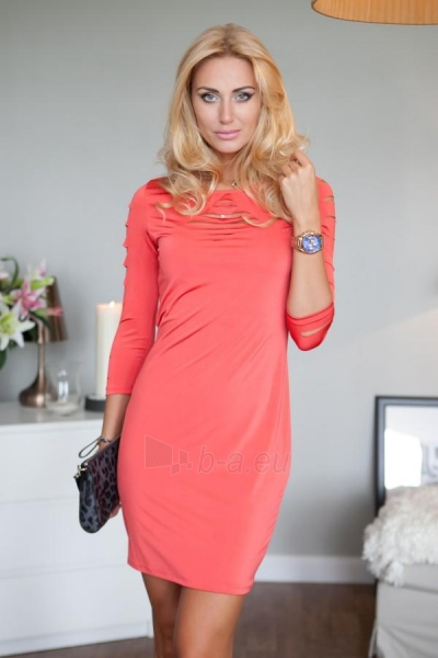 Suknelė Margo (koralo spalvos) Paveikslėlis 1 iš 3 310820032671
