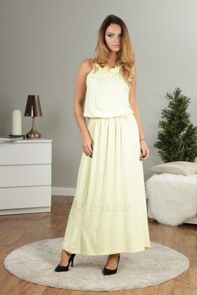 Suknelė MAXI (citrinos spalvos) 13041 Paveikslėlis 1 iš 4 310820035488
