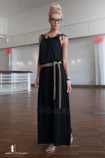 Suknelė MAXI (juodos spalvos) Paveikslėlis 1 iš 4 310820046259