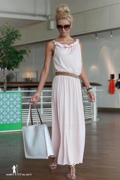 Suknelė MAXI (šviesiai rožinės spalvos) Paveikslėlis 1 iš 4 310820046267
