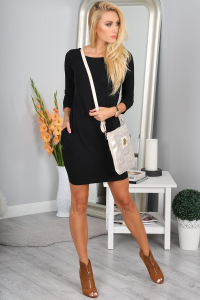 Suknelė Meryl (juodos spalvos) Paveikslėlis 1 iš 3 310820046573