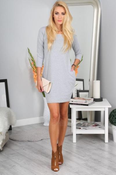 Suknelė Meryl (šviesiai pilkos spalvos) Paveikslėlis 1 iš 4 310820046580