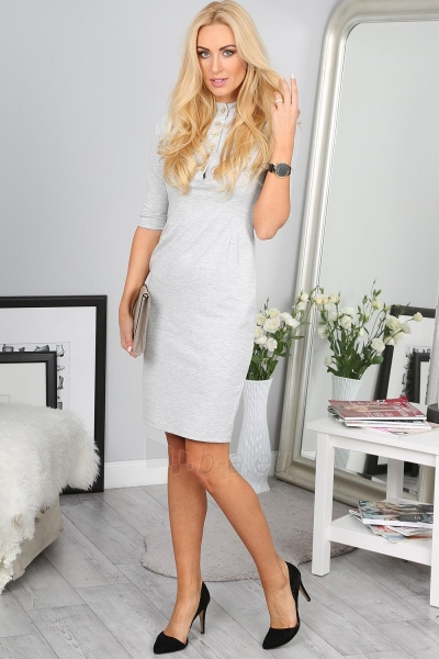 Suknelė Mirabel (šviesiai pilkos spalvos) Paveikslėlis 1 iš 4 310820058056